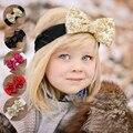 Fantasia Bebê Faixas de Cabelo Meninas Banda Grande Arco de Cabelo Cabeça Envoltório Headband Acessórios de cabelo Do Bebê acessórios presente de Natal Q3