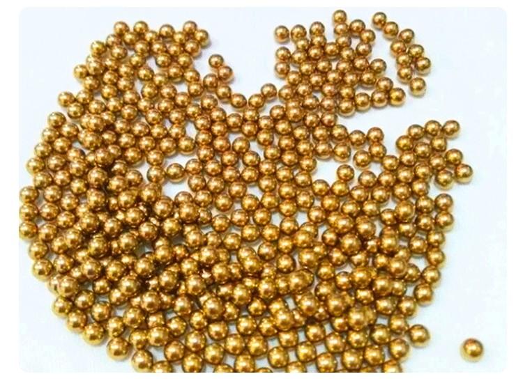 05 мм 5000 шт латунь Твердые шарики подшипника (h62)