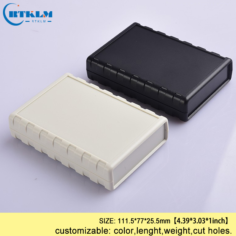 Plastic enclosure housing for electronics abs plastic project junction box diy instrument case Desktop shell 111.5*77*25.5mm