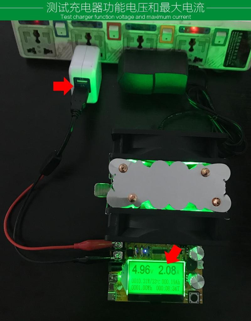 200V 20A 180W ajustable Corriente constante Carga electrónica - Instrumentos de medición - foto 5