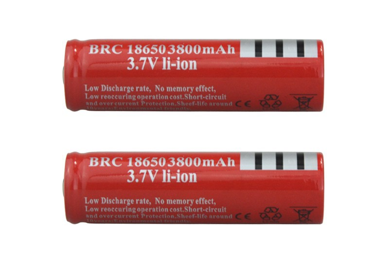2 18650 battery