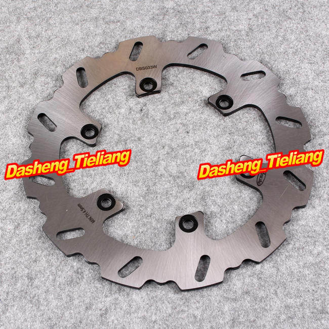 Motorcycle Rear Brake Disc Rotor For Yamaha For Yamaha FZ/FZX750 XJ900F/S FZR1000 Genesis/EXUP XJR1200/1300 BT 1100 BULLDOG 1PC motorcycle front and rear brake pads for yamaha xvs 1300 ctw ctx v star 1300 tourer 2007 2010 black brake disc pad