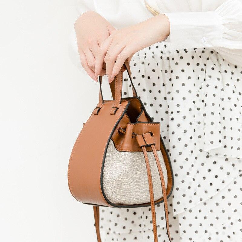 BRIGGS Fashion Women Handbag Pu Leather Tote Bag Ladies Shoulder Messenger Bags Female Trapere Top-handle Bag Small Purse