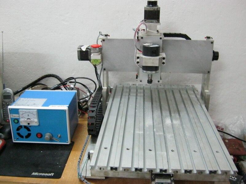 Machine de gravure CNC bricolage 3040 petit ensemble complet de cadre en aluminium PCB modèle charpentier bureau