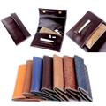 Genuine Leather Hookah Cigarette Rolling Pipe Tobacco Pouch Case Wallet Tip Paper Holder Slot