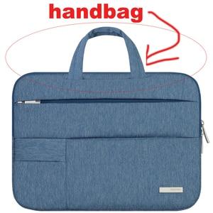 Image 5 - Männer Frauen Tragbare Notebook Handtasche Air Pro 11 12 13 14 15,6 Laptop Tasche/Sleeve Fall Für Dell HP macbook Xiaomi Oberfläche pro 3 4