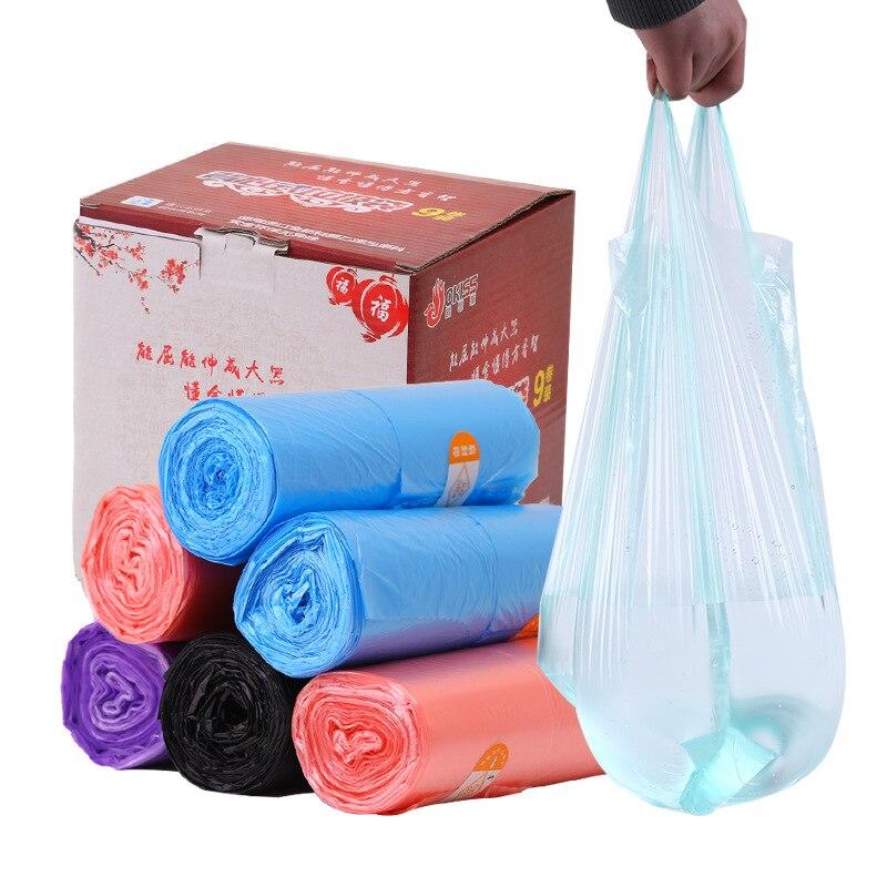 6 Rolls Eco-Friendly Thicken Thicken Kitchen Utensil Household Points Off Trash Can Bin Rubbish Garbage Bag For The Kitchen