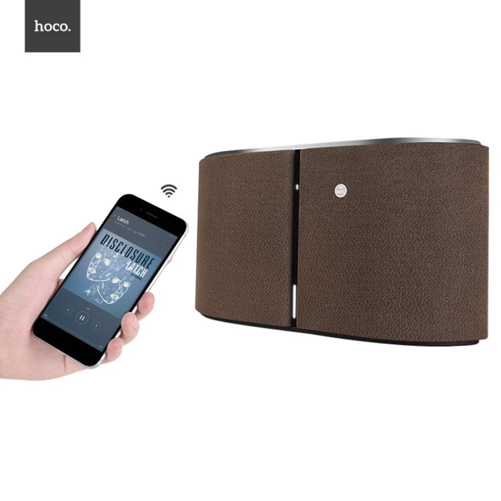 цены HOCO BS11 Captain Tabletop Portable Wireless Speaker Loudspeaker 4.1 Bluetooth Speaker Stylish For Home Theater Party Speaker