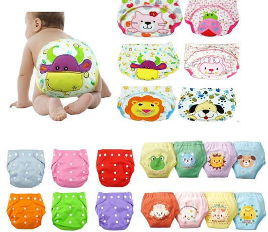 Baby diaper washable reusable cotton potty training pants coolababy bibi diaper change cloth diapers stylish baby diapers