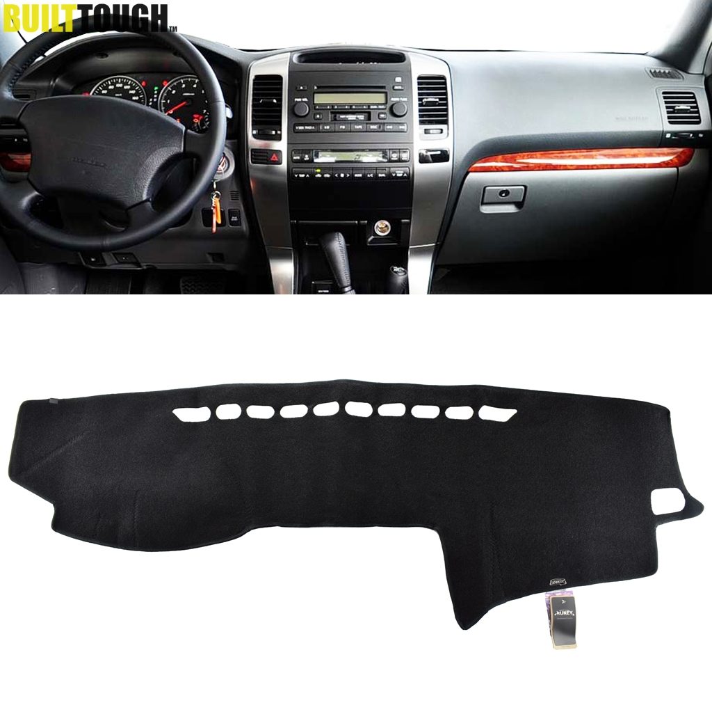 XUKEY FIT FOR TOYOTA PRADO 2003-2006 2007 2008 2009 DASHBOARD COVER DASHMAT DASH MAT PAD SUN SHADE DASH BOARD COVER CARPET MAT Toyota Land Cruiser