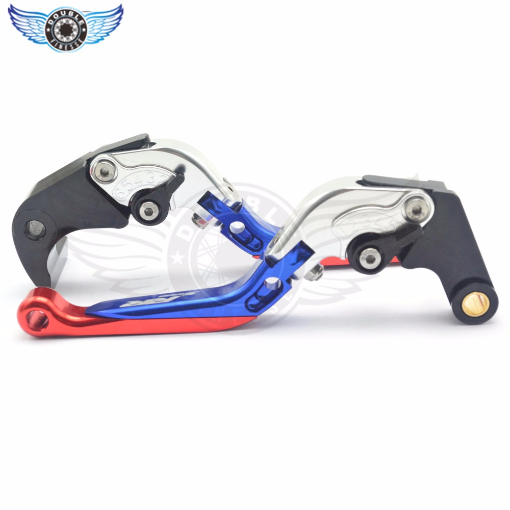 ФОТО Motorcycle CNC aluminum Shorty Adjustable Brake Clutch Levers motorcycle brake clutch levers For BMW S1000RR S1000 RR 2015-2016