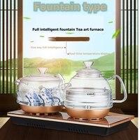 KAMJOVE Intelligent Fountain Type Automatic Water Supply Electric Tea Art Stove Kettle Boil Tea Health Smart