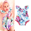 Baby Girl Bodysuits Floral Print Body Bebes Newborn Short Baby Clothes Cotton Baby Bodysuit Baby Clothing Sets  DS26