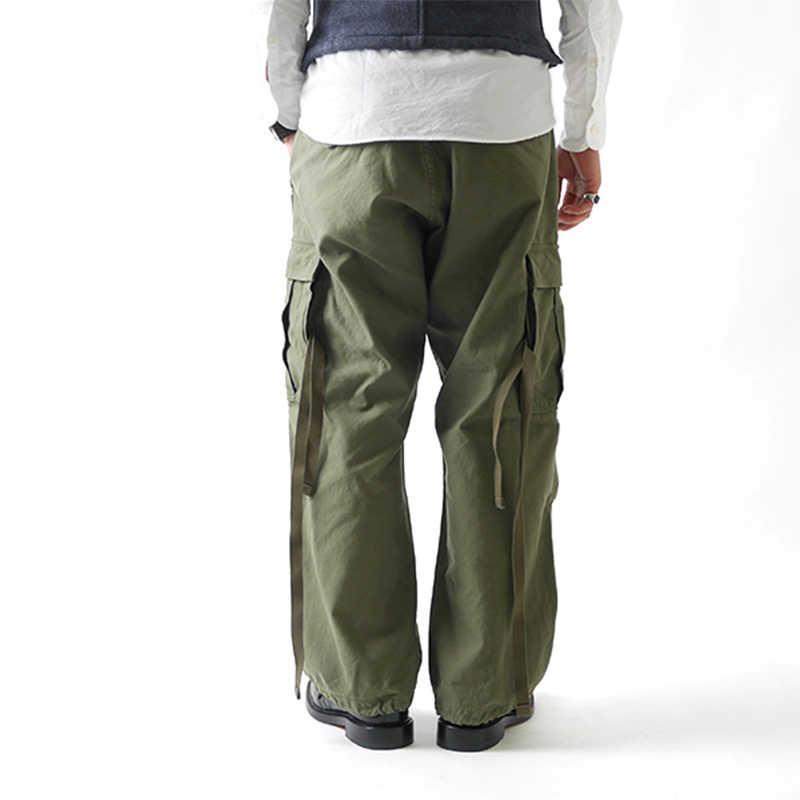 1b825d35 ... NON STOCK M51 Multi Pocket Military Combat Pants Loose Wide Leg Cargo  Pants Men Tactical Army ...