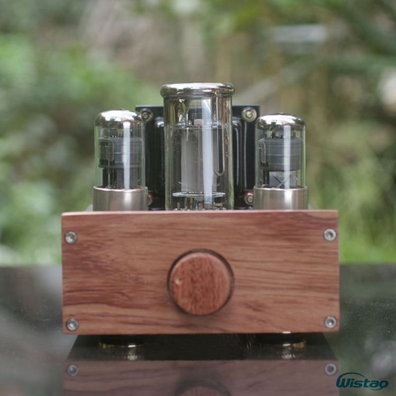 IWISTAO 1pc Mono Tube Amplifier FU50 Power Stage Class A Signal-ended Small 300B 12W Preamplifier 2 x 6J4P HIFI Audio iwistao hifi hybrid tube headphone amplifier class a 2p2 preamp fet irf540 power stage aluminum casing