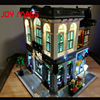 Led Building Blocks Kit For Creator Brick Bank Building Kit Compatible With Lego 10251 Lepin 15001