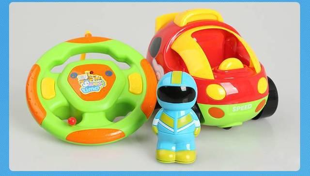 2016 высокое качество Мультфильм дистанционного управления автомобиль игрушки Куклы подарок детские игрушки RC Автомобилей бесплатная доставка