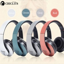 Stereo Earphones Bluetooth Headphone HiFi FM Radio 3.5mm AUX Cordless Headset with Mic for Xiaomi Iphone Sumsamg Mobile Phone(China)