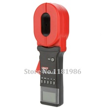 цена на UNI-T Earth Ground Resistance Tester 4 Digitals LCD Display Clamp Meter Ohmmeter Leakage Current Tester 0-30A 2 in1 UT278A