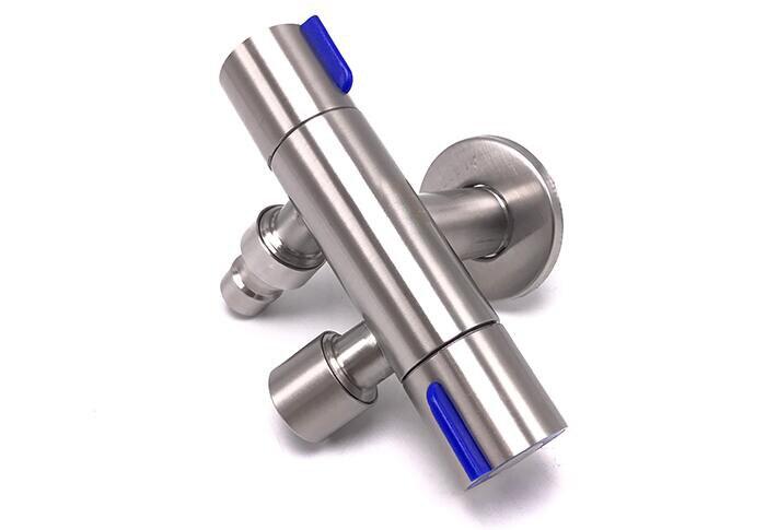 controle duplo acessórios do banheiro válvula ângulo três vias ag041