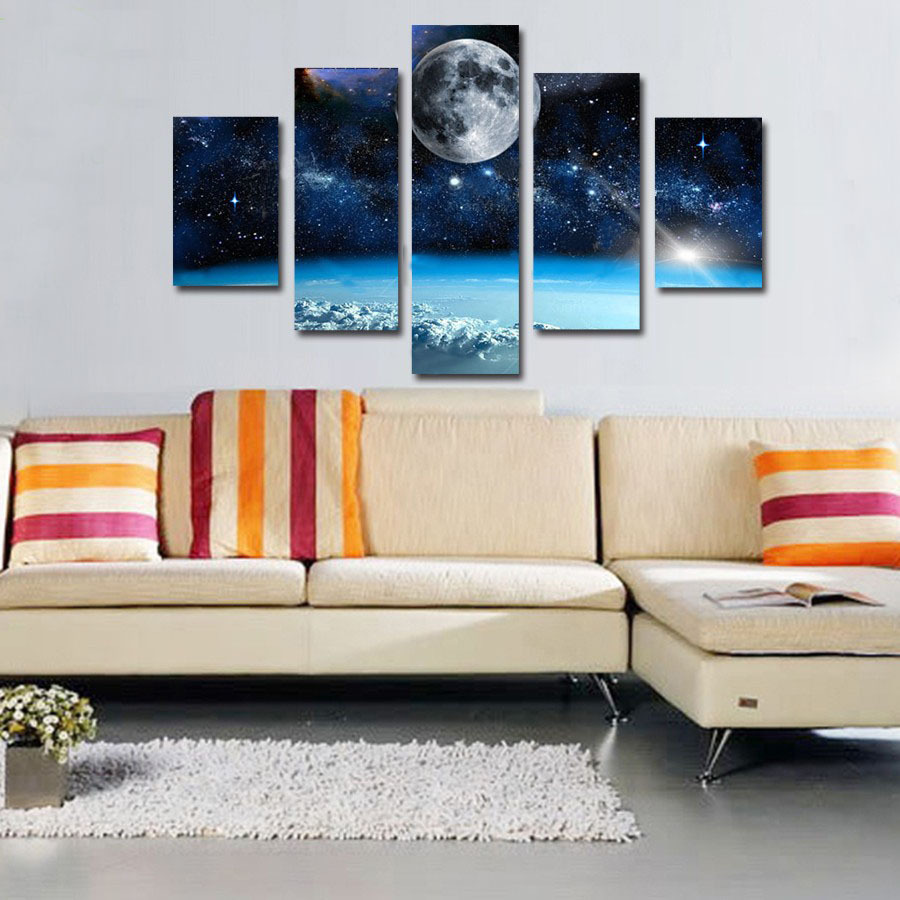 Large Painting For Living Room Online Get Cheap Large Landscape Painting Aliexpresscom
