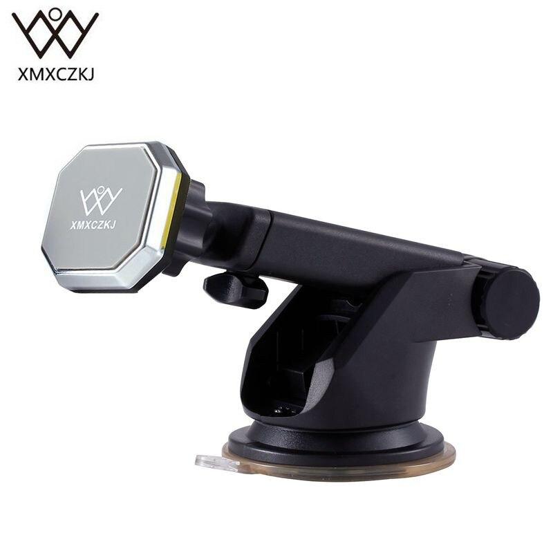 XMXCZKJ Универсальный Магнит Телескопический приборной панели автомобиля крепление телефона держатель для телефона Магнитный держатель для …
