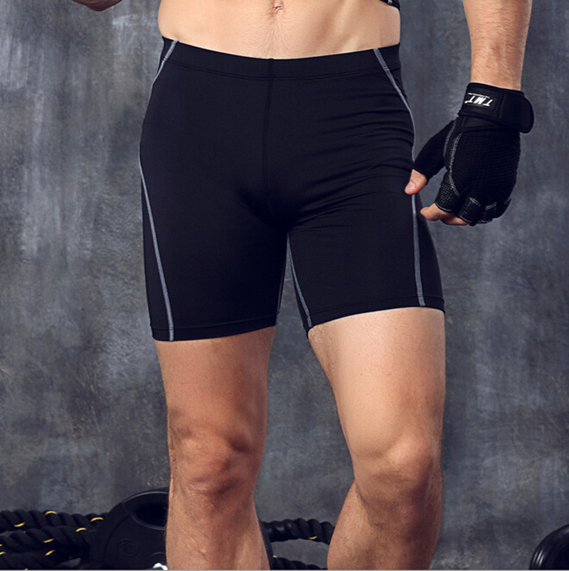 Fitness Shorts Skins Sporty Elatic Joggers Gyms Workout Bodybuilding Running for Men