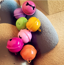 20mm 10pcs/lot Multi Colors Jingle Bell Christmas Decoration Charms Metal Christmas Bell Pendant Fit Jewelry Accessories