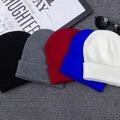 Simples Clássico Sempre Knit Hat Para Mulheres Homens Meninas Meninos Bordados Primavera Outono Inverno Gorros Malha Chapéus Femininos Tampas Gorro