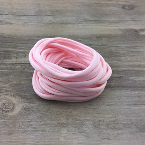 Image 5 - 500 pz/lotto, Nuovo di Nylon di Colore Solido Fasce Elastiche Super Soft Elastico Fasce di Nylon, un formato misura la maggior parte
