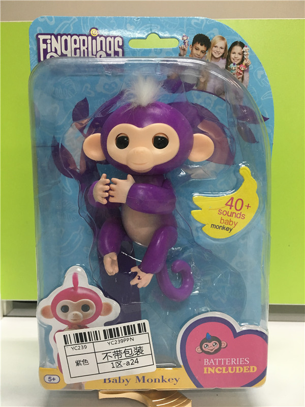 2017-Finger-Monkey-half-intelligent-Pet-Monkey-Electronic-Pet-Toys-shake-the-hody-it-sound-and-light-attention-no-full-function-2