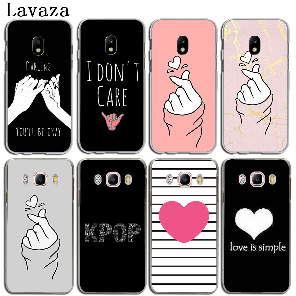 Phone Bags & Cases Half-wrapped Case Lovely Cute Korean Finger Heart Slim Silicone Soft Phone Case For Samsung Galaxy J1 J2 J3 J5 J7 A3 A5 A7 2015 2016 2017 Aesthetic Appearance