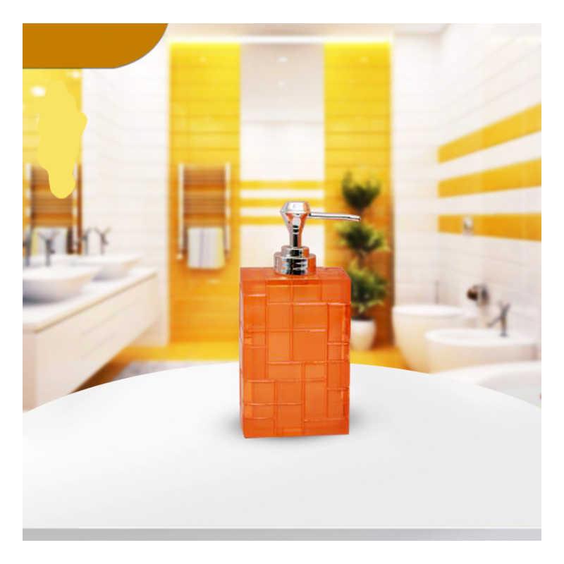3 sztuka/zestaw łazienka produkty żywica butelka kubki szczoteczka do zębów uchwyt zestawy akcesoriów łazienkowych dostaw ślubne