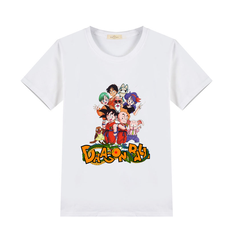 dragon ball child cotton t shirt for boys and girls summer toys 2 4 6 8 10 12 years