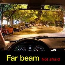 Высокое качество День Ночь анти-ослепительный автомобильный солнцезащитный козырек HD ослепительные очки Зеркало для вождения УФ складывающийся откидной HD для прозрачного вида козырек 5