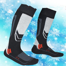 1 Pair New Winter Thermal Ski Socks Cotton Sport Snowboard Cycling Socks Thermosocks Leg Warmers For Unisex Men Women RP