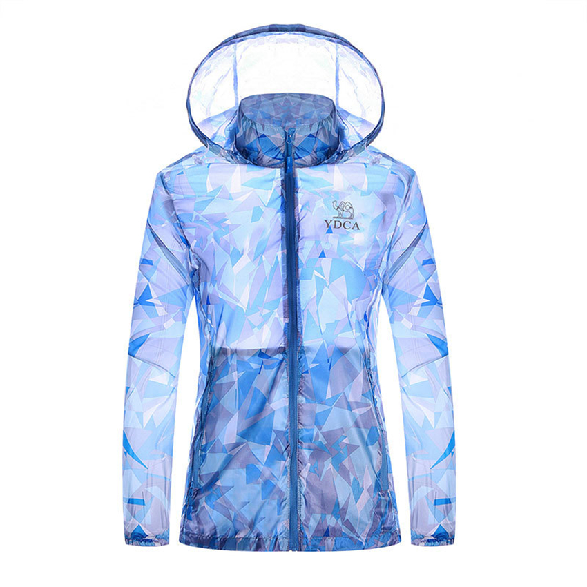 Skin-Clothing Sun-Protection Outdoor Sports Camouflage New Male And Summer Spring