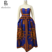 2017wax 100 Batik Fabric Top Quality Ankara African Dress Women Africaine Print Dashiki Dress African Clothes
