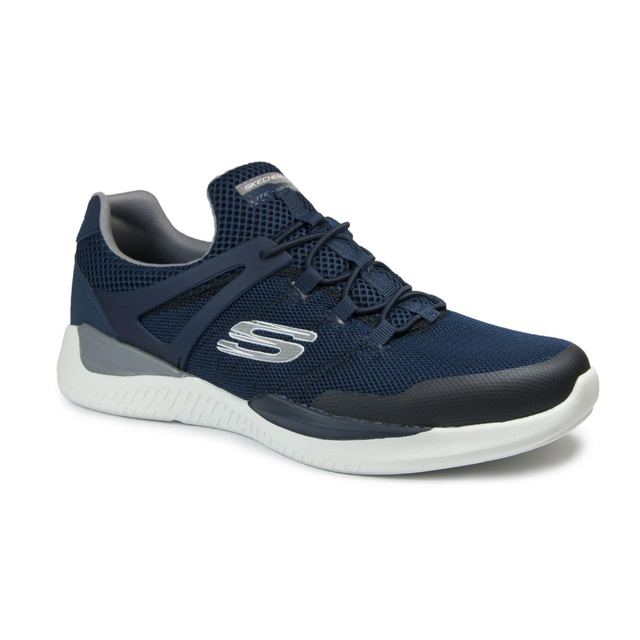 in pelle 52664 uomo Sneakers Skechers da Men tqOxSSwU
