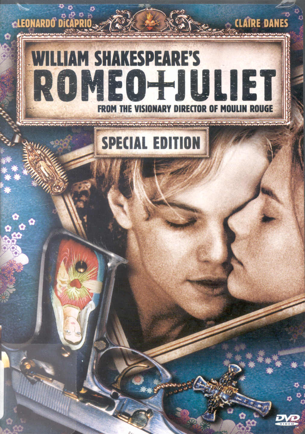 77a740ced Romeo & Juliet Book cover Locket Necklace keyring silver Bronze tone B0941