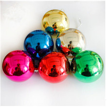 Wholesale 6 Pcs/Pack Christmas Balls Baubles for Door Home Hotel Window Decoration XMAS Tree Ornament Shining Ball