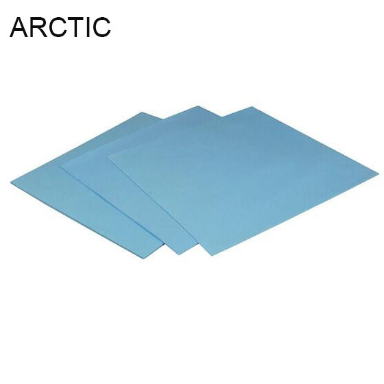 Original ARCTIC Thermal pad 6.0 W/mK conductivity 0.5mm 1.0mm 1.5mm Thermal pad 145*145MM thermally conductive adhesive thermal conductivity of cross linked polymers