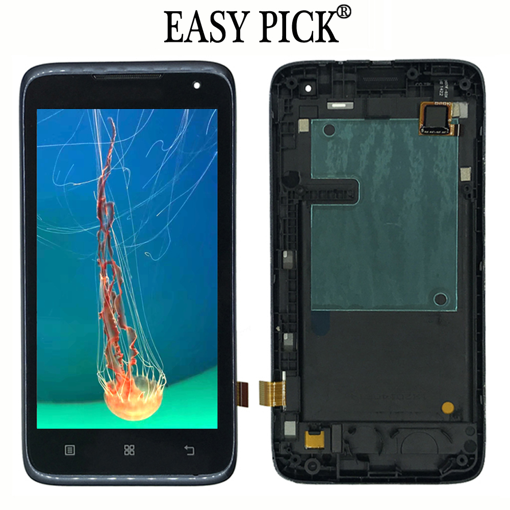 For lenovo A526 LCD Display Touch Screen Digitizer Assembly Replacement with frameFor lenovo A526 LCD Display Touch Screen Digitizer Assembly Replacement with frame