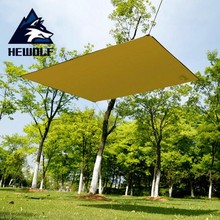 цены 145*180cm Waterproof Sun Shelter Tent Tarp Anti UV Beach Shade Outdoor Multi-function Camping Rain Fly Sunshade Awning Canopy