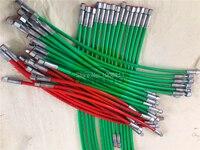 65cm 75cm 85cm 95cm high pressure 2600bar/2800bar Diesel pipe tube for common rail test bench pipe part, common rail tube
