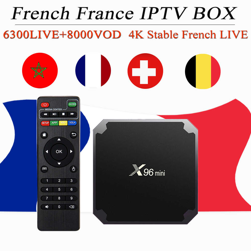 h96 max x2 french iptv android 8 1 tv box 6300+LIVE&8000 VOD