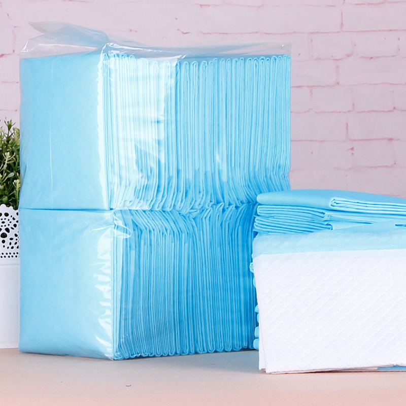 Dog Diapers Size S(33CM*45CM) 100 pieces Dog Cleaning Supplies Thickening Absorbent Disposable Diapers dogs antibiotic diapers