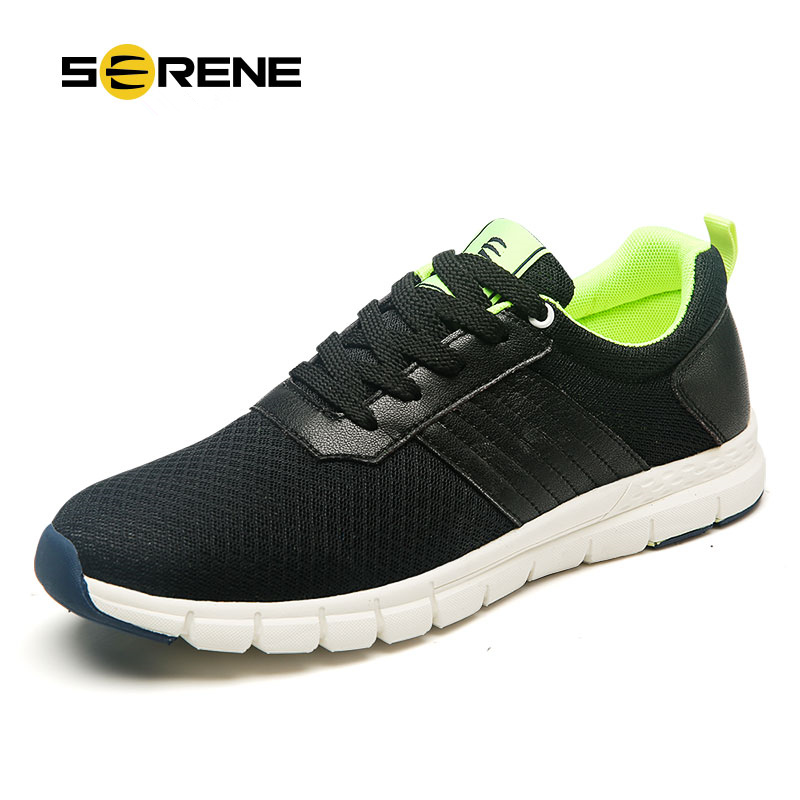 SERENE Brand 2017 Hot Sale size 38-44 Fashion Men Casual shoes Leasure Breathable Mesh Men shoes High quality Male Footwear 9182 casual shoes men breathable new fashion men dress shoes good quality working shoes size 38 44 aa30064