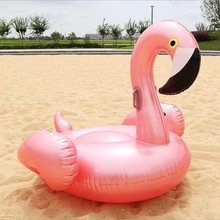 150cm Inflatable Flamingo Ride-on Pool Float for Swimming Mattress Beach Lounger adults Pool Rafts flamingo inflatable circles