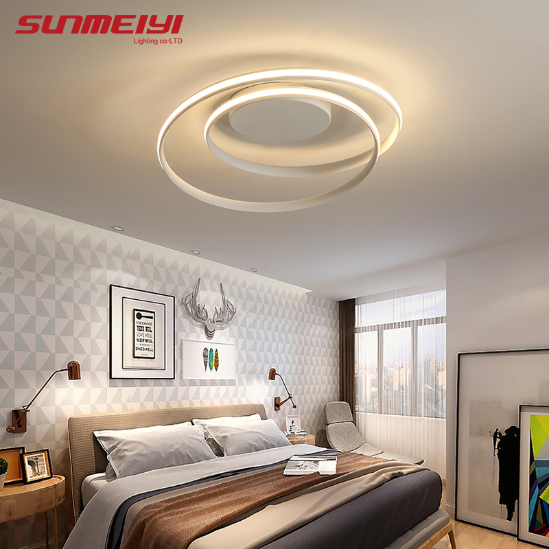 Round Led Ceiling Lights luminaire plafonnier For Living room kitchen lampen modern Light Fixtures verlichting plafond